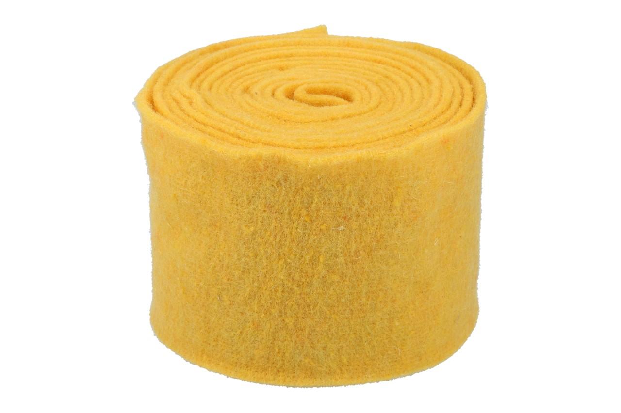 Topfband 15cm, 5m, gelb