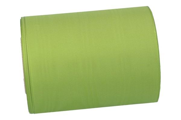 Moiré-Kranzband 125mm, 25m, grün