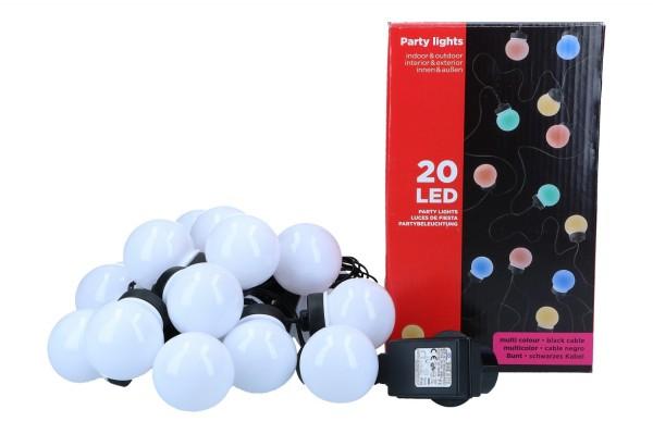 Partybeleuchtung, 20 LED Ø 5cm, 1 Stück
