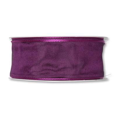 Formb. Drahtkantenband 40mm dunkel-lila