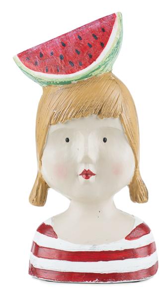 Ladykopf Melone 28cm, Ve. 1 Stück