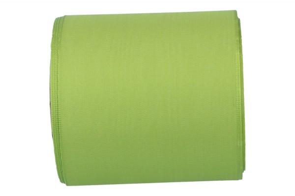 Moiré-Kranzband 100mm, 25m, grün