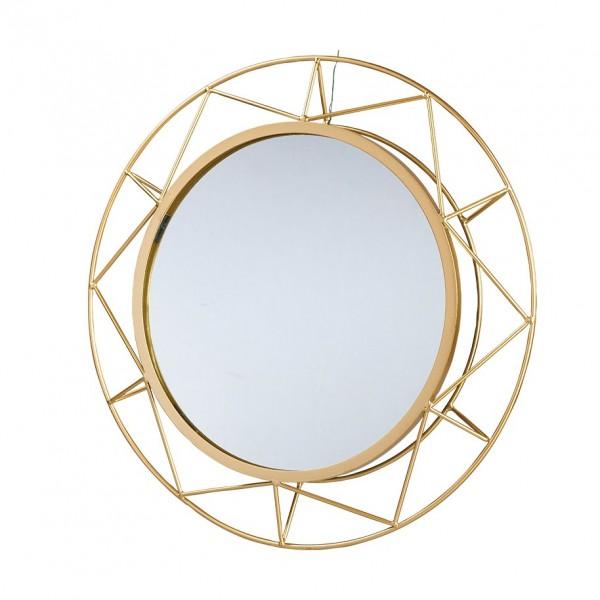 Spiegel in Metallrahmen rund D40cm, VE=1 (#153461000)