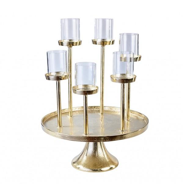 Teelichthalter x 6, D43 H57cm, 1 Stück