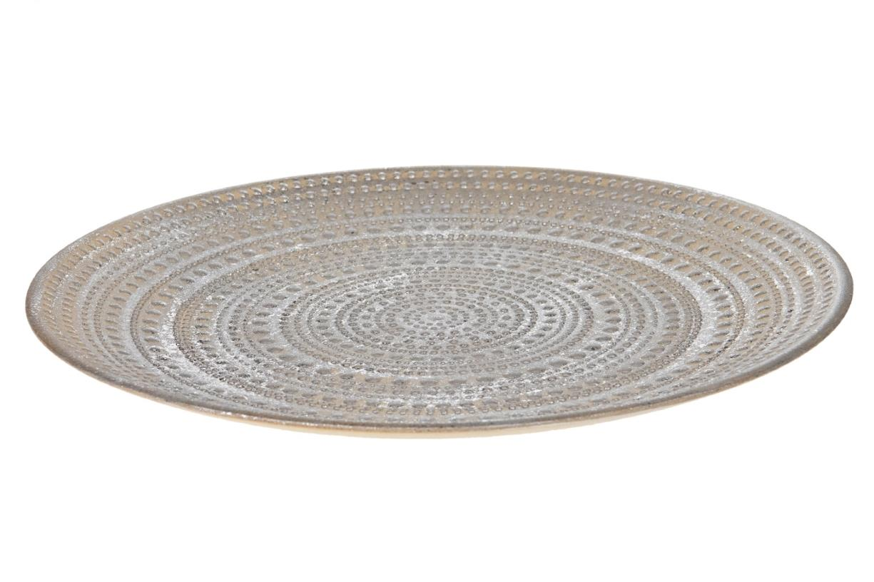Plate D49,5x3,5cm, Ve. 1 Stk