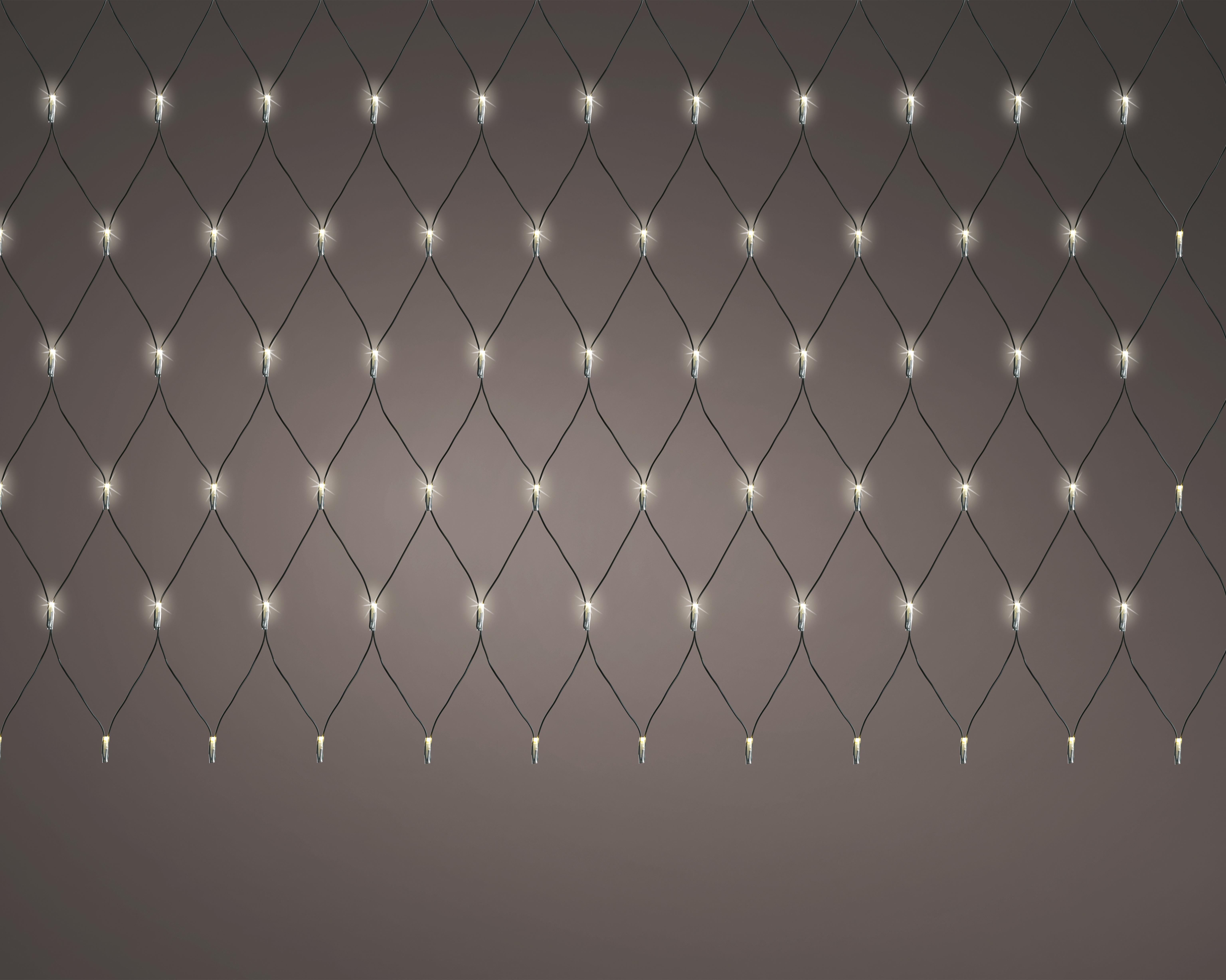 LED Lilchternetz 200 x 200cm Ve. 1 Stk