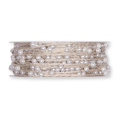 Leinen-Grimpe mit Perlen B5mm