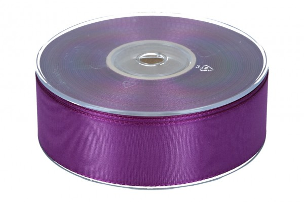 Dekoband Economy 40mm, 50m, dunkel-viol