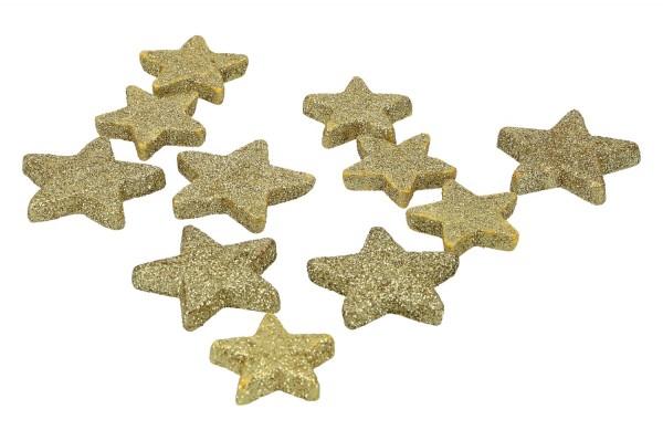 Glietter Sterne zum Streuen 4/5cm,