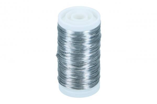 Silberdraht 0,37mm, 100gr. verzinkt