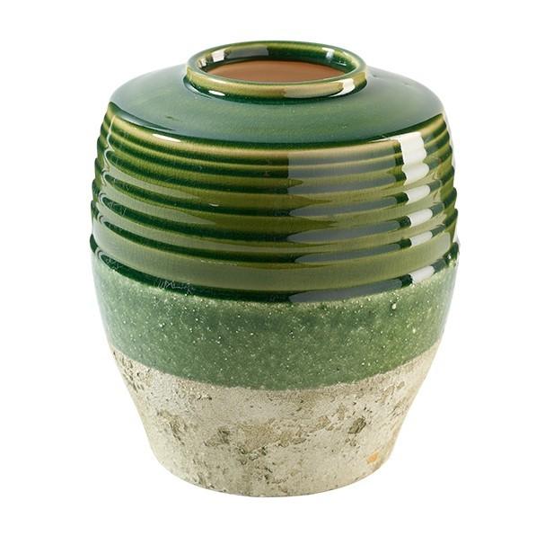 Vase unten schmal D17 H19,5cm, Ve. 1 (#142092000)