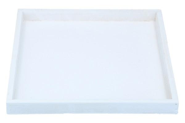 Holztablett 22 x 22 x 2,4 cm, 1 Stück