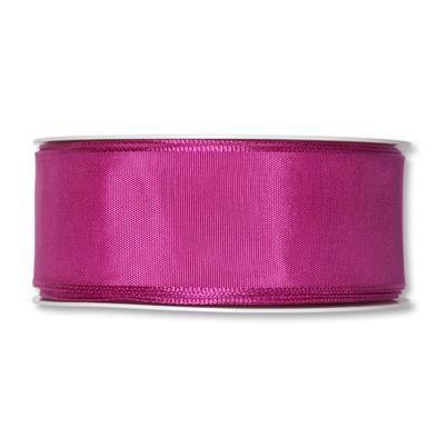 Formb. Drahtkantenband 40mm, 25m,  pink