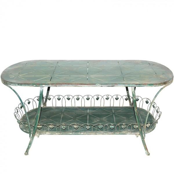 Tisch verschnörkelt 121x53 H56cm, Ve. 1 (#153428000)