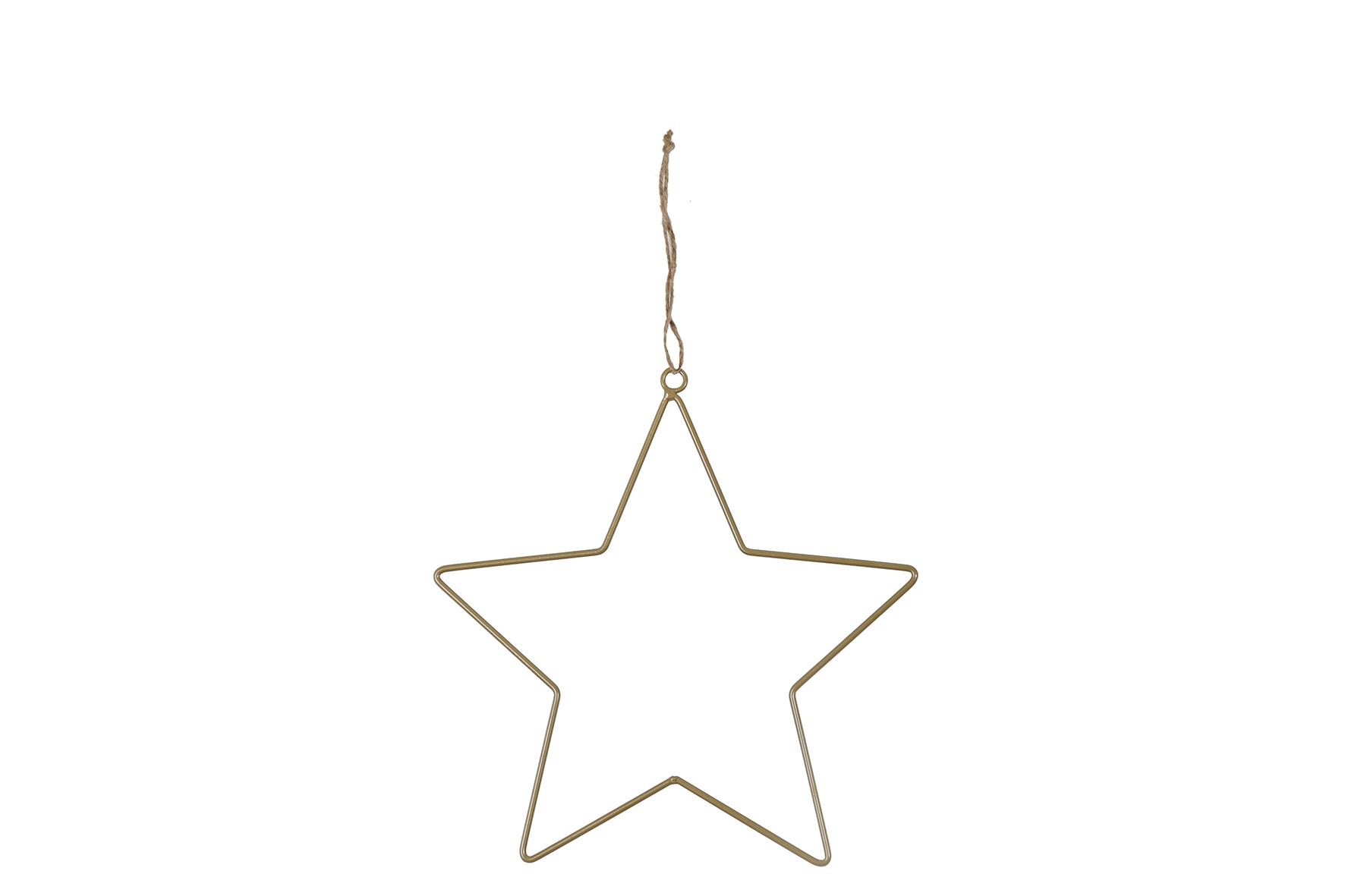 Stern zum hängen 28cm, 1 Stück