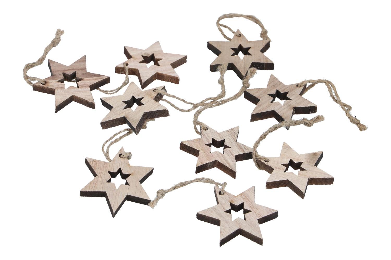 Sterne offen auf Jutefaden D5cm (#131094000)