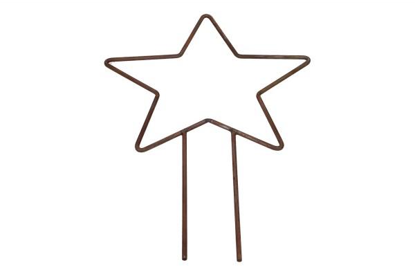 Rankornament Stern 40 x 63cm, 1 Stück