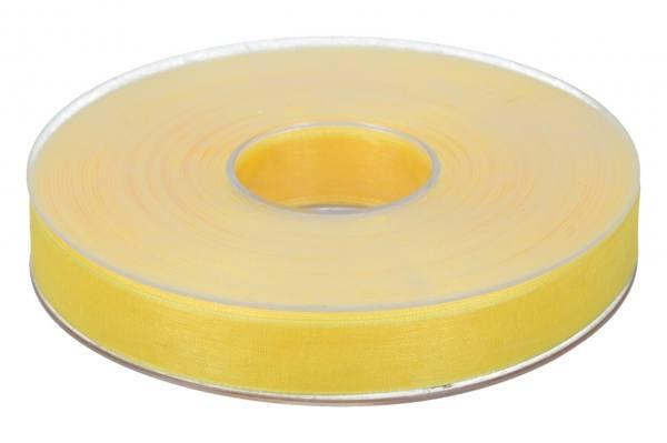 Beauty Organdy Band 15mm, 50m, gelb