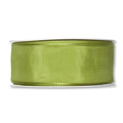 Formb. Drahtkantenband 40mm, 25m, grün