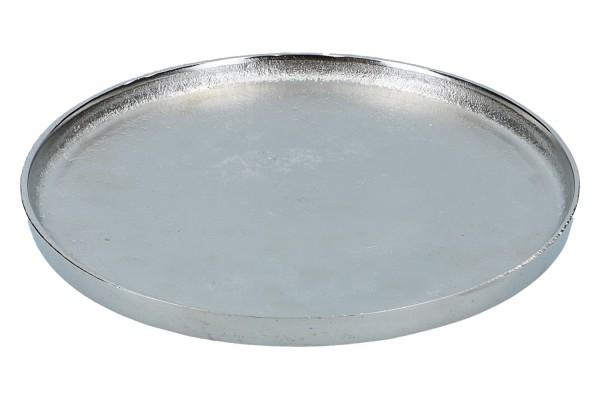 Teller Ø 26cm, vernickelt, 1 Stück
