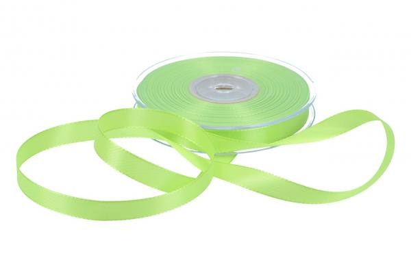 Dekoband Economy 15mm, 50m, hell-grün