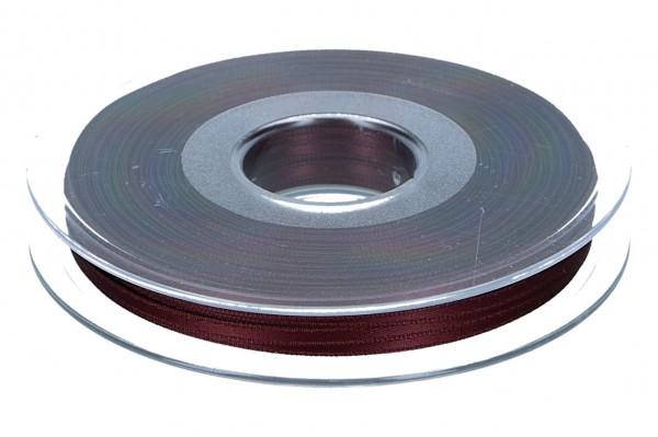 Satinband 3mm, 50m, bordeaux