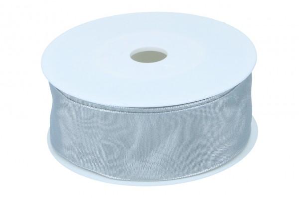 Formb. Drahtkantenband 40mm, hell grau