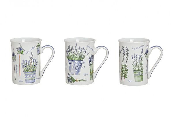 Becher 'Lavendel' Dekor, 1 Stück