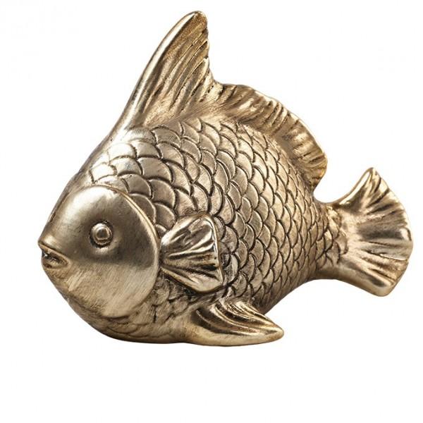 Fisch 17x13cm, altgold, Ve. 1 (#142034000)