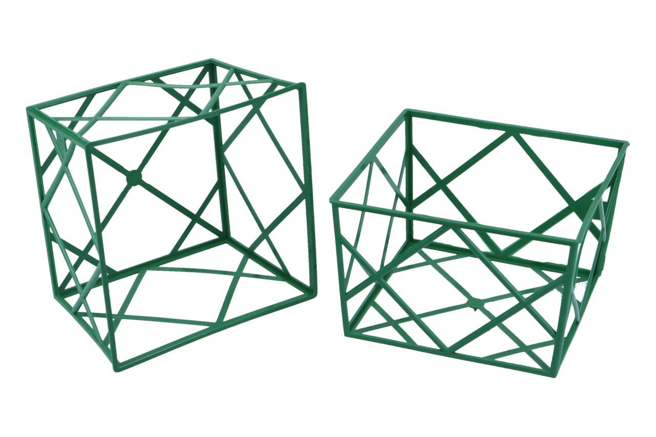 Stülpnetz 1/2, 12 x 12 x 7,5 cm,