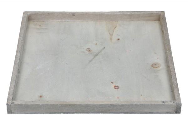 Holztablett 26 x 26 x 2,4cm, 1 Stück