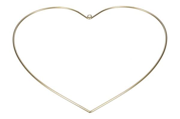 Herz mit Öse zum hängen D40cm, VE = 1 (#153380020)