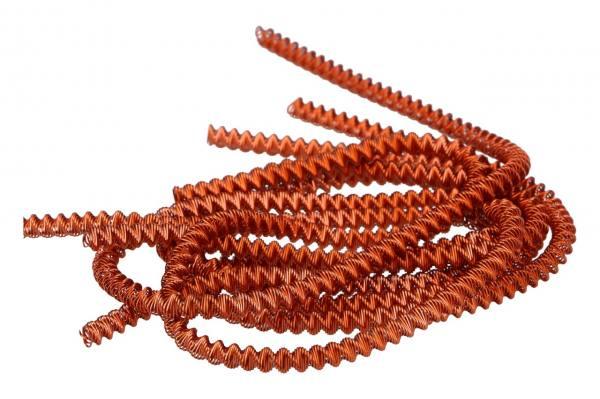 Bouillondraht Jumbo Orange, 100gr.