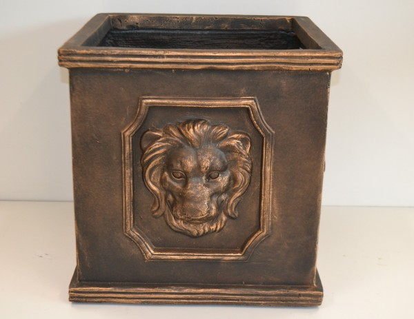 Pflanzgefäß Maine Lion Cubi Bronze, 1 St