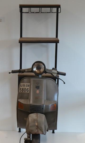 Vintage Moped Bar 47x87x162cm, 1 Stück
