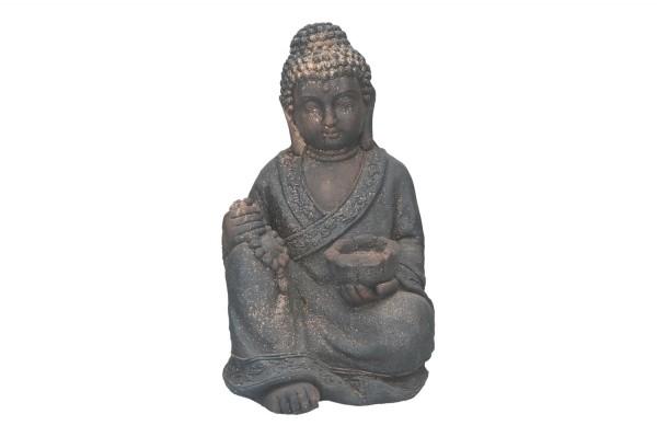 Buddha sitzend Ø29cm Höhe 45cm