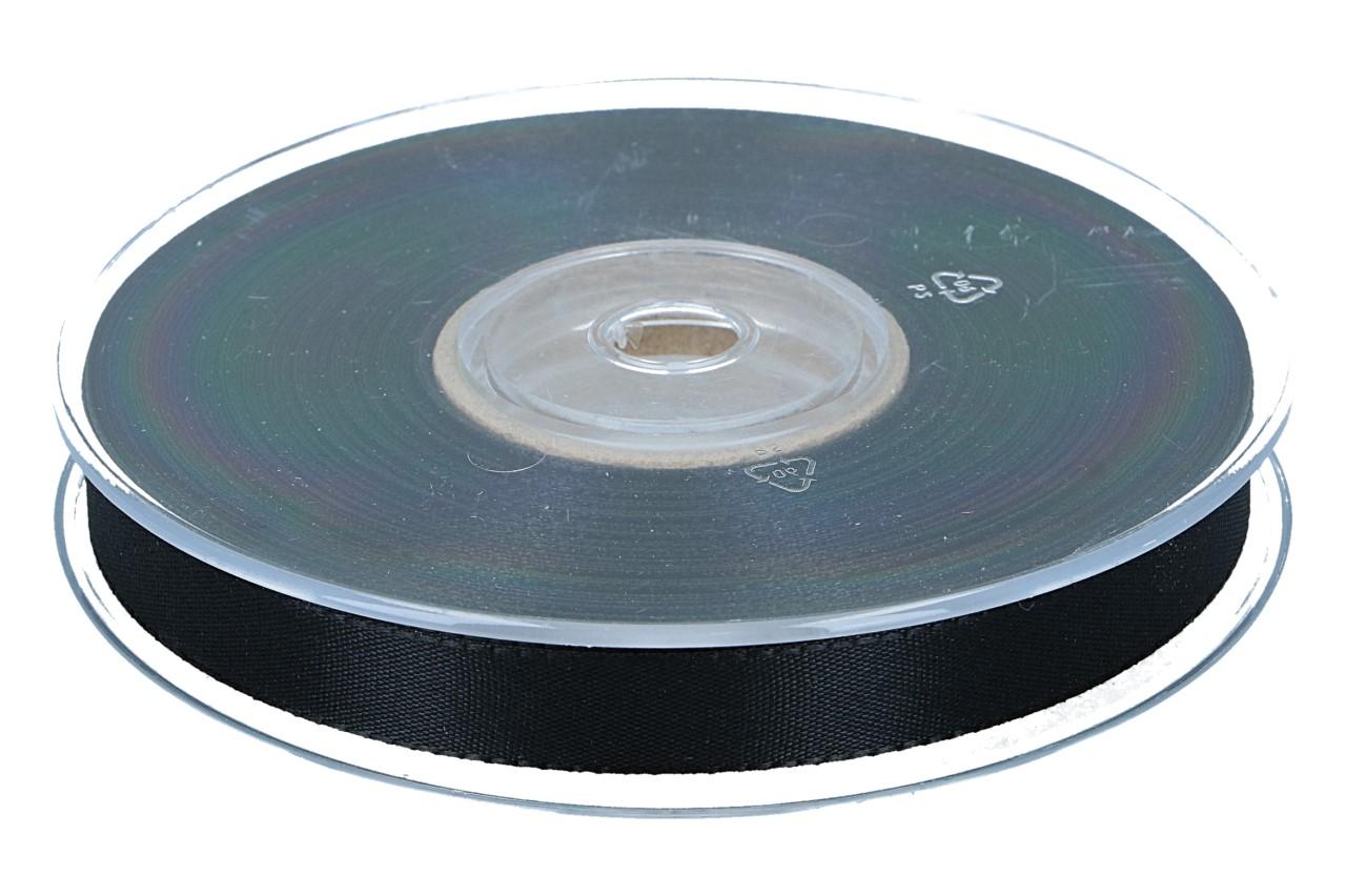 Dekoband Economy 15mm, 50m, schwarz