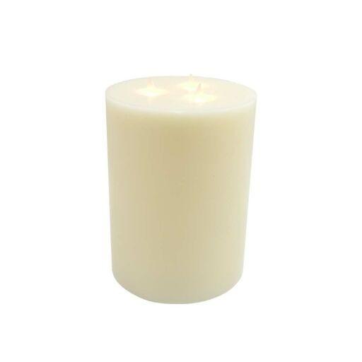 LED Kerze mit 3 LED Ø15cm H23cm, 1 Stück