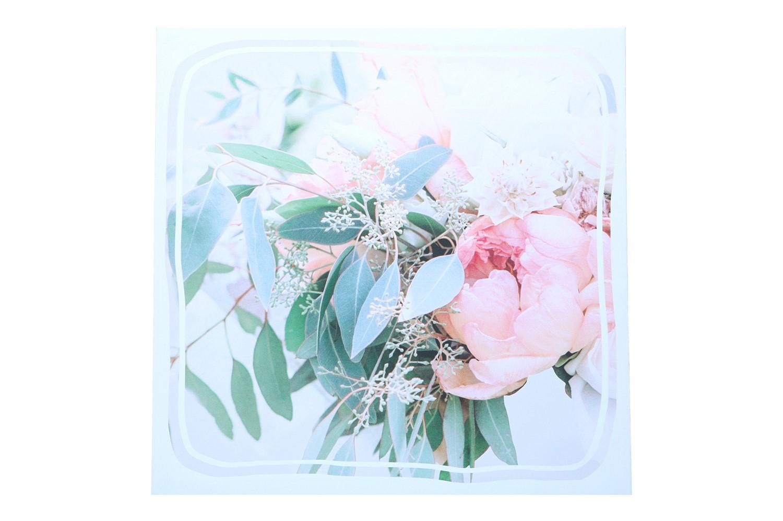 Bild ' Blumen' 40x40cm, Set = 2 Stück