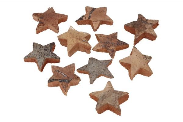 Kokosnuss Sterne ca. 5cm, 1 Netz = 10 St