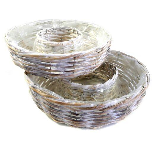 Rattankranz zu bepflanzen, Ve.1 x2er Set (#220304705)
