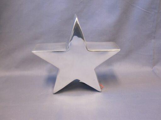 Stern 7 x 22cm, poliert, 1 Stück