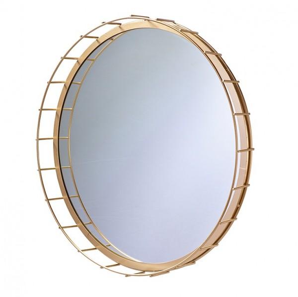 Spiegel mit Goldrand D54,5H6cm, Ve. 1 (#152872000)