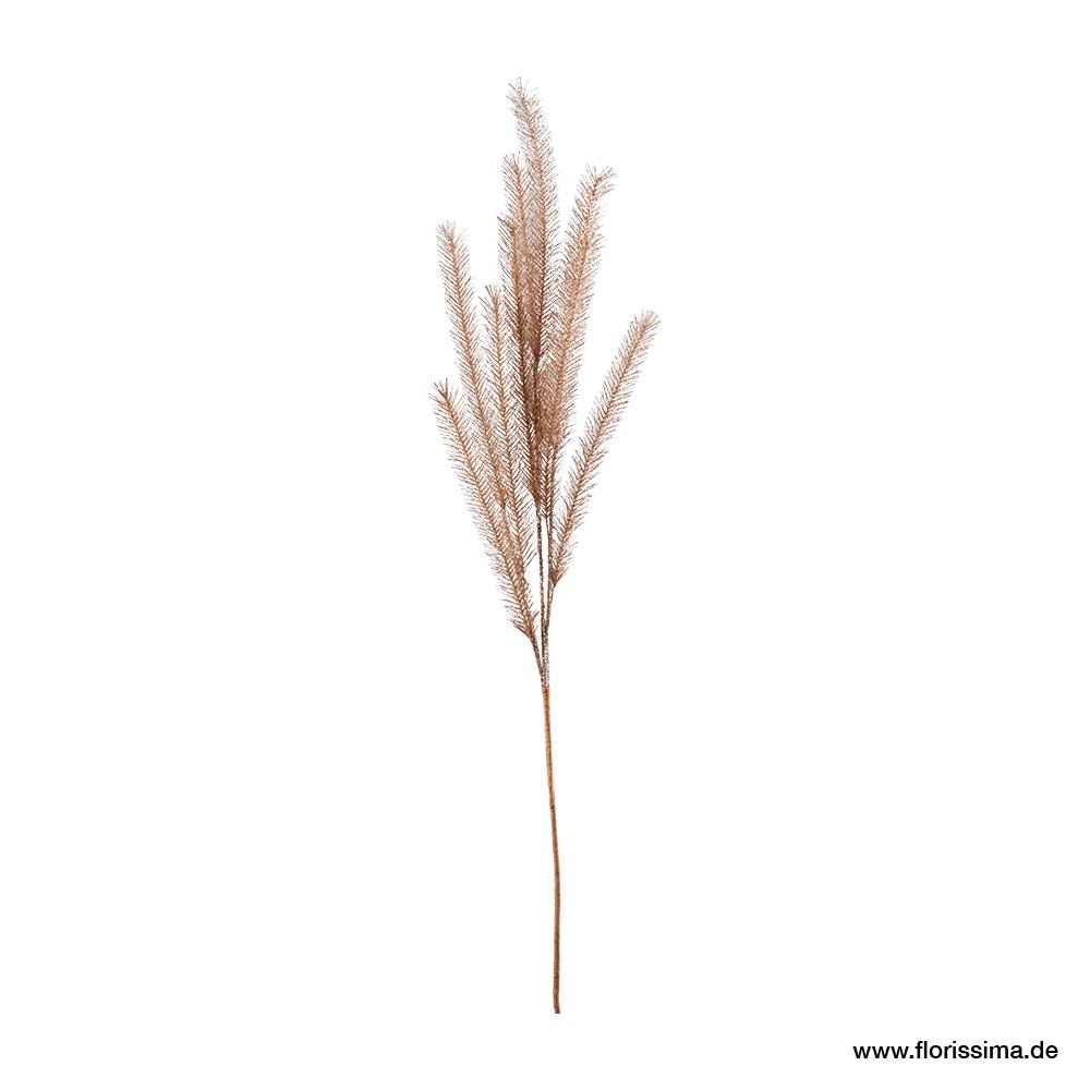Gras Zweig mit Glitter L114cm, Ve. 1 Stk (#181104087)