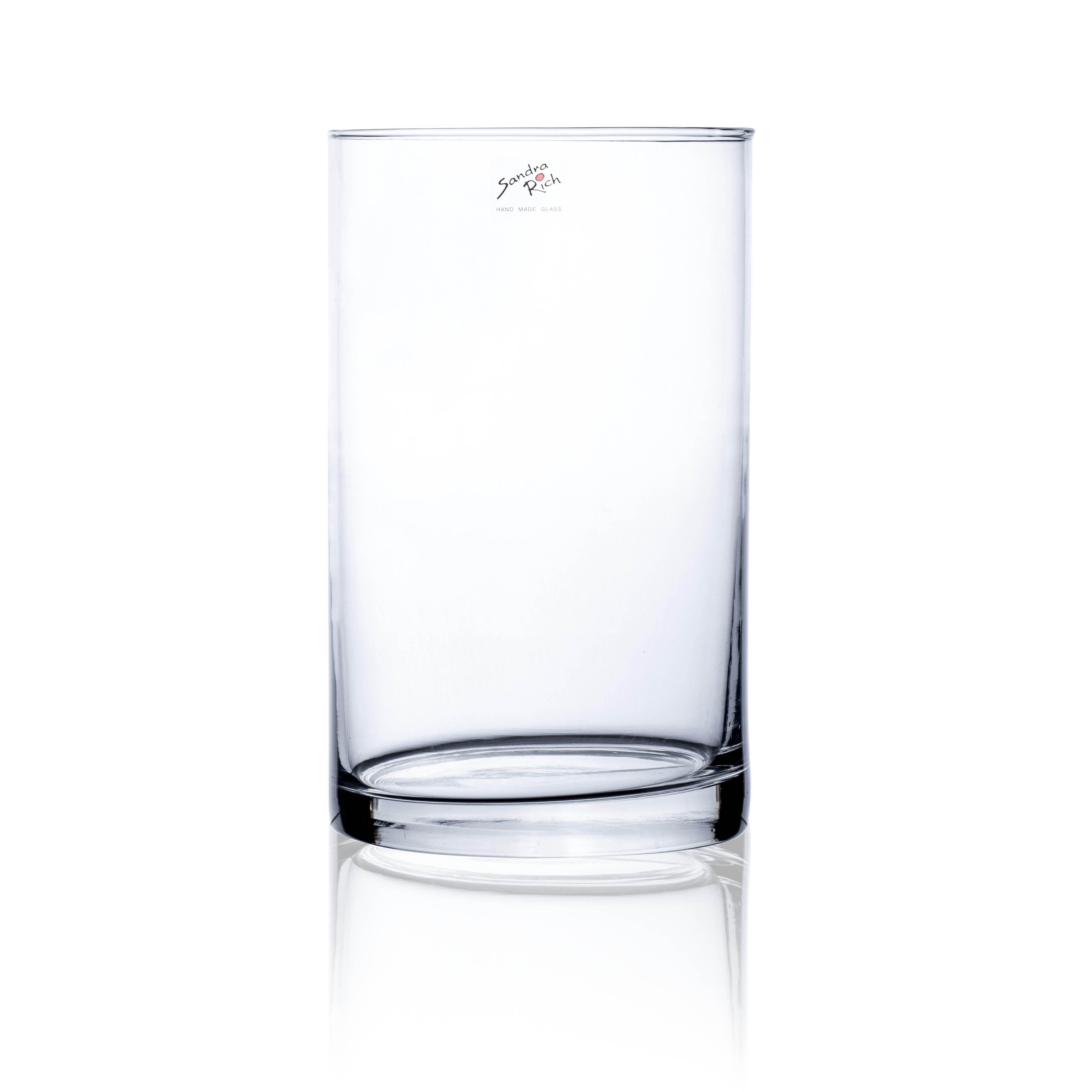 Cylinder Vase H25cm, D15cm, Ve. 1 Stk