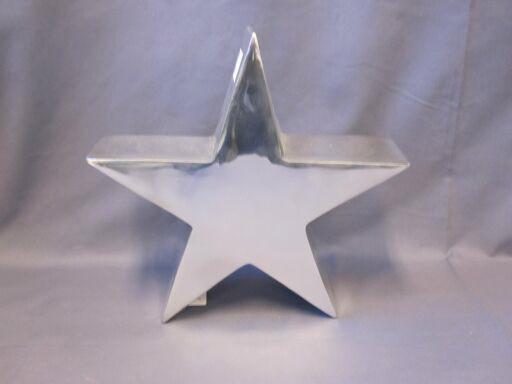 Stern 9 x 33cm, poliert, 1 Stück