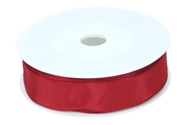 Formb. Drahtkantenband 25mm, 25m, rubin
