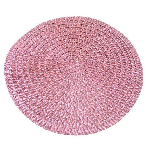 Tischset rund Ø38cm, 1 Set = 6 Stück