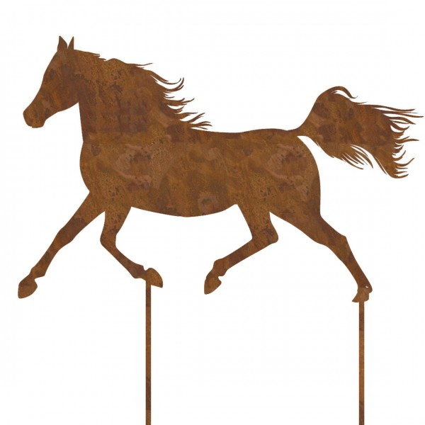 Stecker 'Pferd' H 64x43cm L60cm, VE = 1