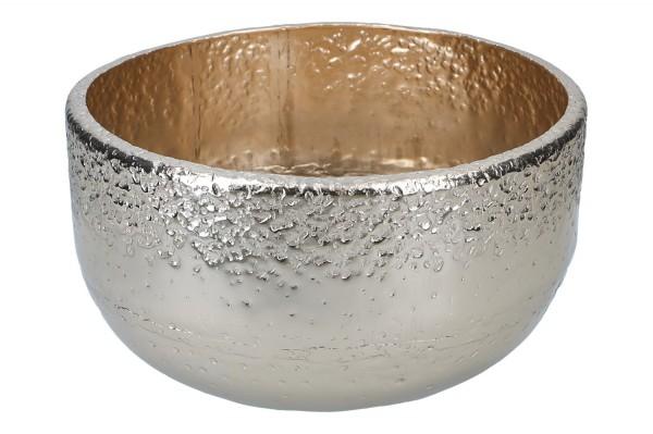 Schale Alu Ø33cm, H18,5cm, 1 Stück